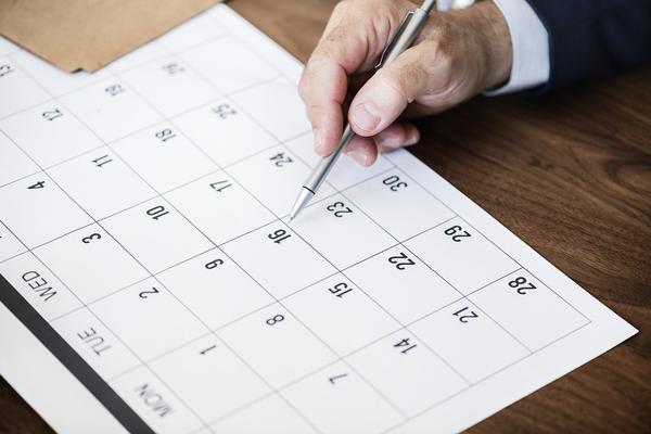 Kalendarze trójdzielne dla firmy
